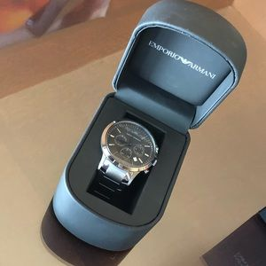 Emporio Armani Men's watch VERY gently used